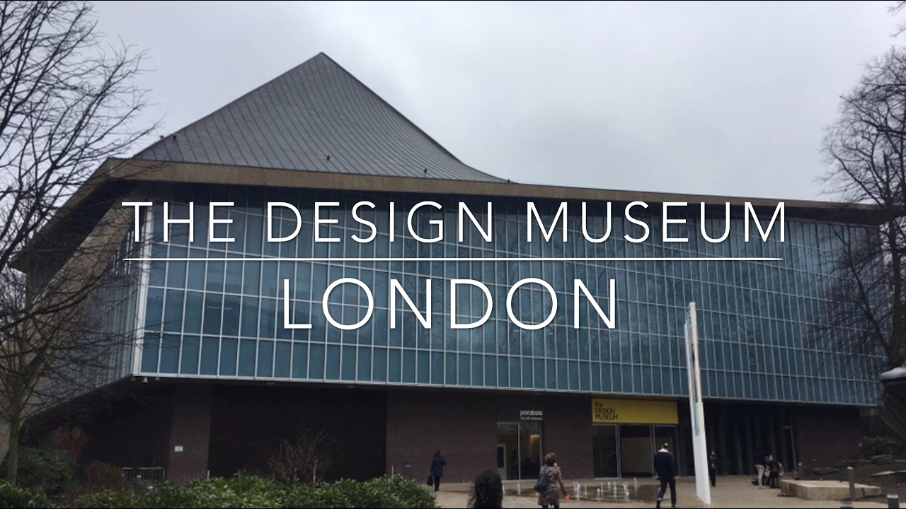 The design museum london youtube for Museum designers