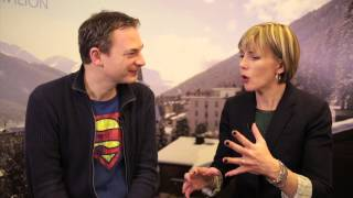 WEF Davos 2014 Hub Culture Interview with Mark Turrell