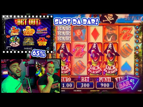 SLOT MACHINE da BAR - Giochiamo alla BET OUT (Bakoo) al 65%