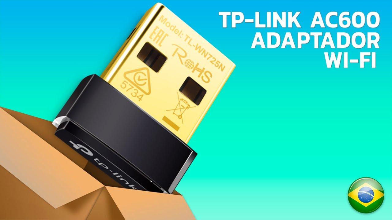 Adaptador Wi-Fi Tp-Link Nano Ac600 Dual Band (Unboxing)