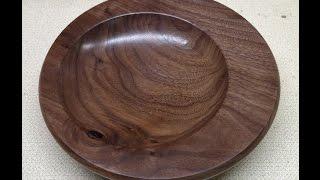 Wood Turning - Off Center Bowl