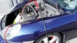 Porsche Boxster S décalaminage moteur hydrogène Pure Motor