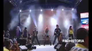 [2007] RBD en Concierto Exa El Paso Texas cantan Cariño Mio / Ser o Parecer