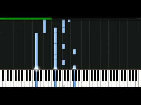 James Blunt - I can't hear the music [Piano Tutorial] Synthesia | passkeypiano
