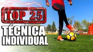 TOP 25 EJERCICIOS DE TÉCNICA INDIVIDUAL QUE TODO JUGADOR DE FUTBOL DEBE ENTRENAR Y MEJORAR SU REGATE