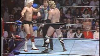 "Mid-South Wrestling - ""Magnum"" TA vs ""Nature Boy"" Buddy Landell"