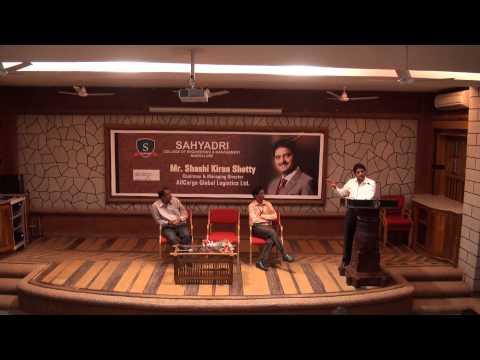 Shashi Kiran Shetty visits Sahyadri Campus