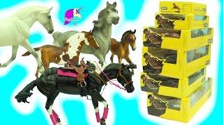 2017 New Traditional Breyer Mare  Foal Stallion Horses Haul -  Honeyheartsc Video