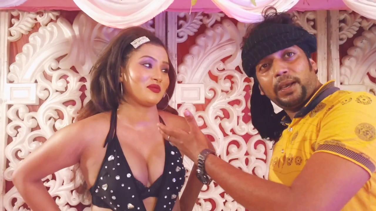 Bhojpuri Item song actress ka interview.. Pawan singh khesari lal yadav akshra singh arkeshtra show