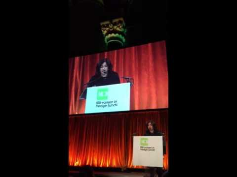 Girls Who Invest speaks at 100 Women in Hedge Funds gala NYC and