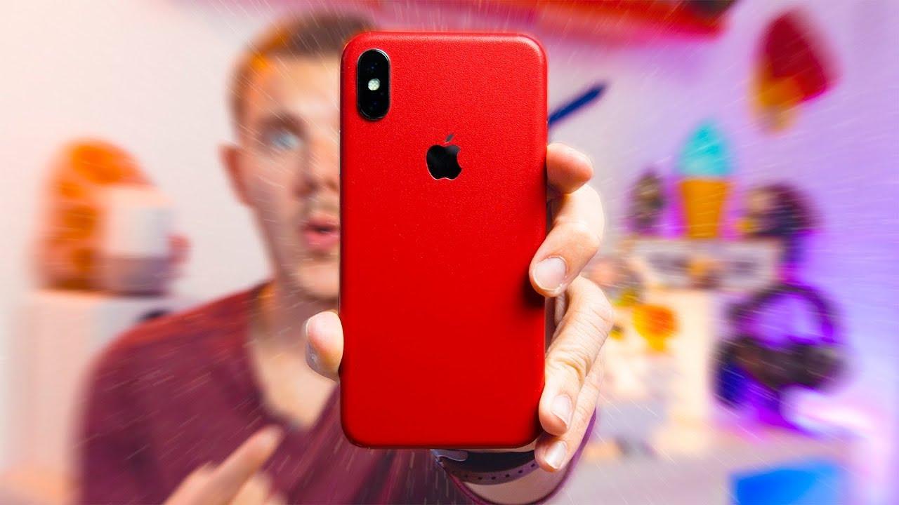 Comment avoir un iPhone X Rouge !