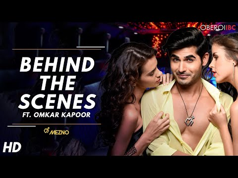 Mezno DEO - Print Shoot featuring Omkar Kapoor - making video