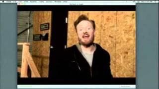 Conan OBrien Thursday - Rebecca Black Friday Parody