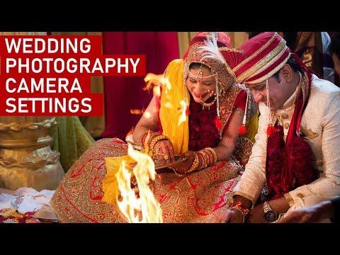 WEDDING PHOTOGRAPHY CAMERA SETTINGS & TIPS (Hindi)