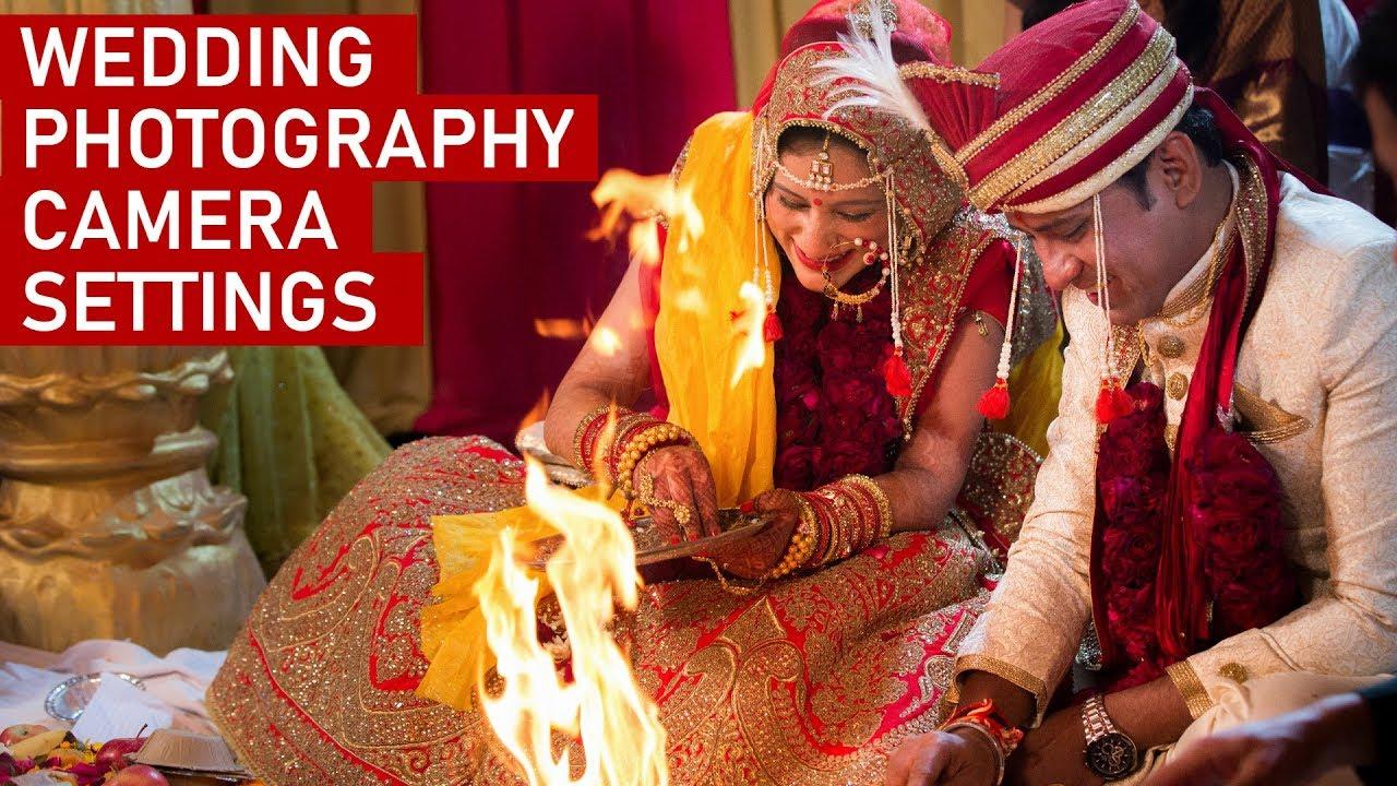 WEDDING PHOTOGRAPHY CAMERA SETTINGS & TIPS (Hindi) - YouTube