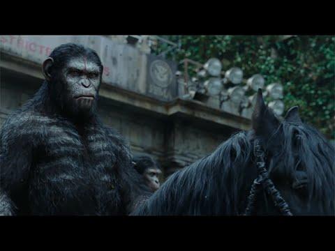 《猩球崛起:黎明之戰》終極高清預告片 - Dawn of the Planet of the Apes Final Trailer - 時間邊界