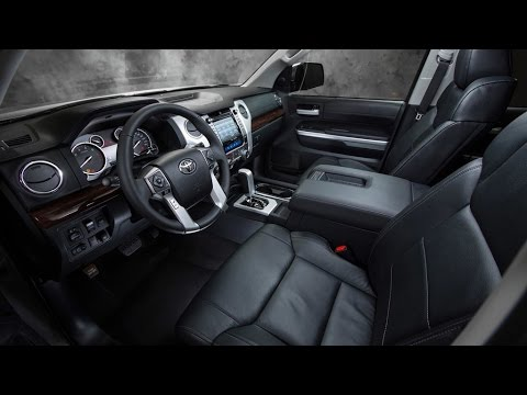2015 Toyota Tundra Interior Youtube