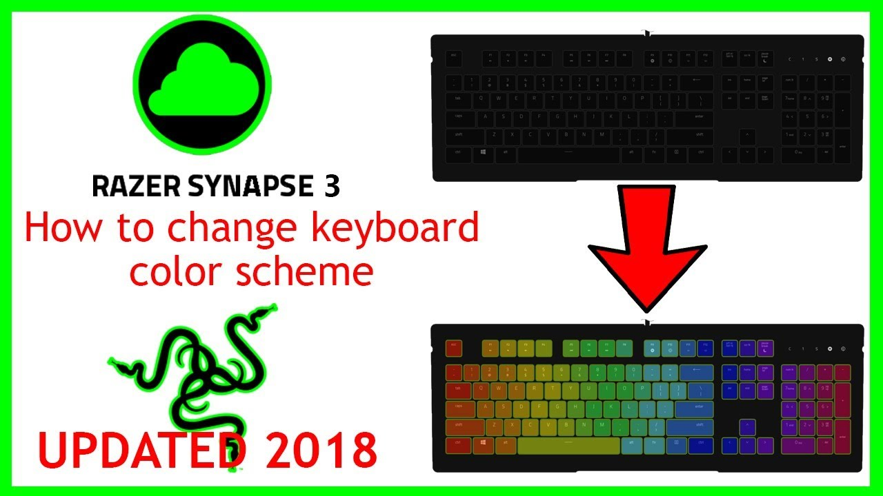 (2019 UPDATED) HOW TO CHANGE KEYBOARD COLOR IN RAZER SYNAPSE