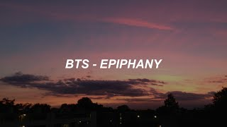 BTS (방탄소년단) 'Epiphany' Easy Lyrics