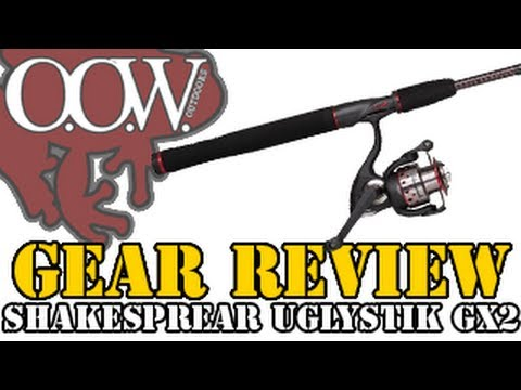 New Ugly Stik GX2 Combo Review - OOW Outdoors
