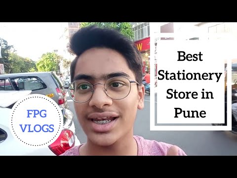 BEST Stationary Store in Pune | MG ROAD | CAMP | VLOG 01 | FPG