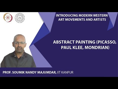 Lecture-16: Abstract Painting (Picasso, Paul Klee, Mondrian)