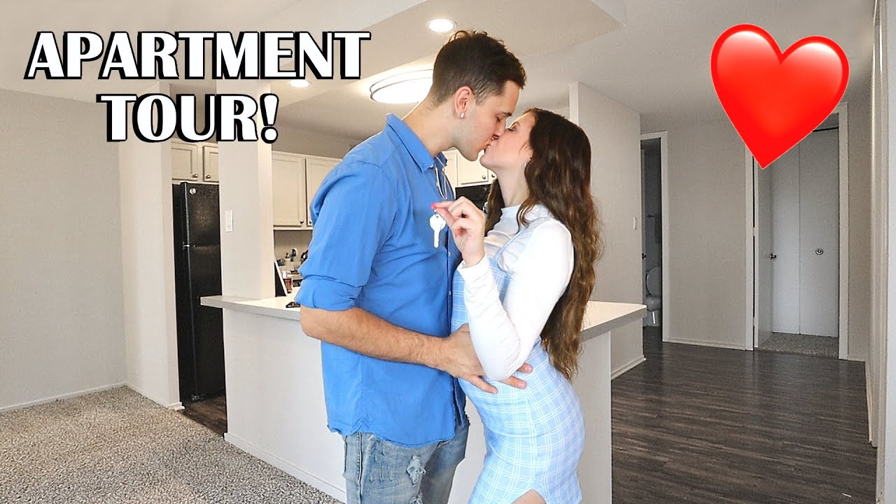 OUR NEW EMPTY APARTMENT TOUR!!