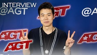 Interview: Eric Chien Recalls His First Audition On America's Got Talent - America's Got Talent 2019