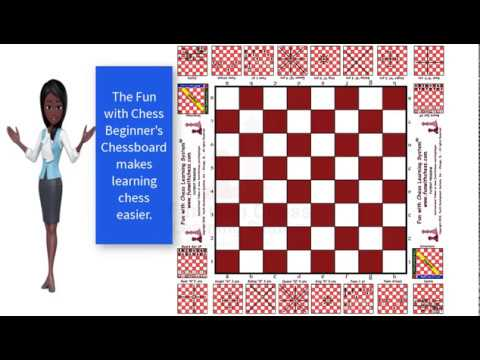 Fun with Chess Beginner's Chessboard
