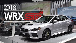 2018 Subaru WRX STI | First Look & Overview | 2017 New York Auto Show