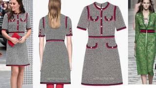 Дополнительный урок для онлайн курса по шитью. Выбор платья по журналу Бурда