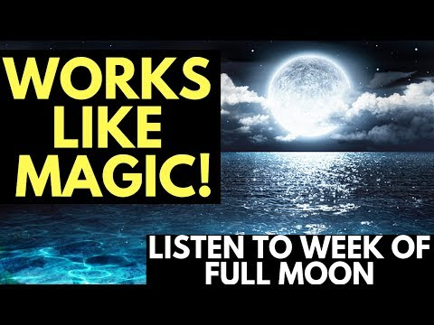 Full Moon Guided Meditation for Increased Emotion with the L