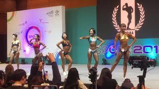 2019 스포엑스 wff korea nabba 여성 스…