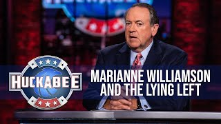 FOTM Marianne Williamson RED PILLED Whoopi SMACKS DOWN Debra Messing s Blacklist Huckabee