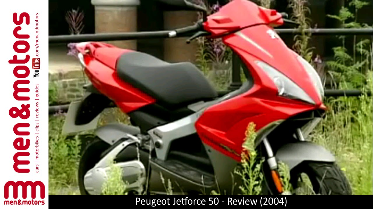 peugeot jetforce 50 - review (2004) - youtube