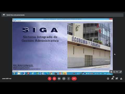 Capacitación SIGA Municipalidad Distrital de Santiago