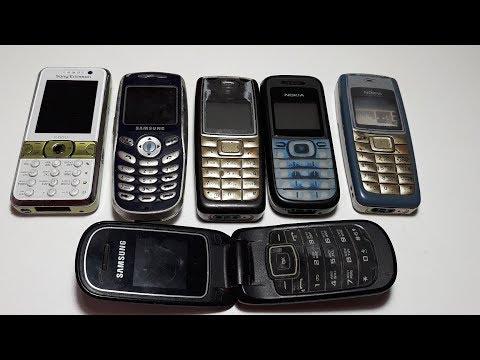 Купил 8 телефонов доноров за 80 гривен. Nokia 1110i. Nokia 1200. Samsung e1150. Sone Ericsson k660i