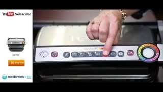 Cook the perfect steak to your taste with the Tefal GC702 OptiGrill Smart Grill - Appliances Online