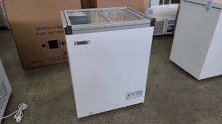 업소용 소형 미니아이스크림 냉동고 100L SD10F …