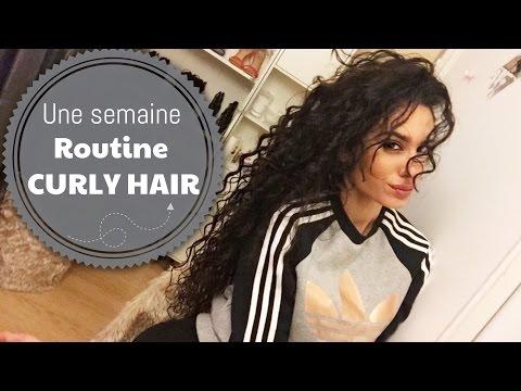 ✄ Une semaine de ROUTINE CURLY HAIR avec moi | GisèleRodrigues