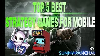 TOP 5 BEST STRATEGY GAMES FOR MOBILES
