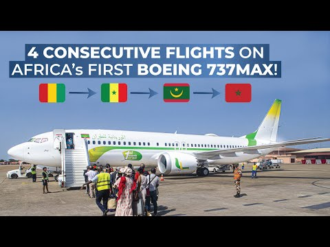 TRIPREPORT | Mauritania Airlines | Boeing 737 MAX | Conakry-