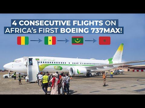 TRIPREPORT | Mauritania Airlines | Boeing 737 MAX | Conakry-Dakar-Nouakchott-Nouadhibou-Casablanca