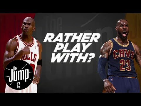 McGrady And Pierce Debate: LeBron Or MJ? | The Jump | ESPN