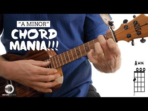 Easy Ukulele Chord Tutorial | A Minor Chord Mania | 4K