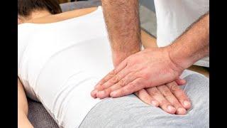 Espalda cadera de coxis baja dolor