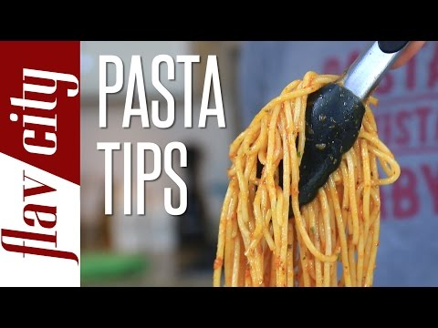 How To Cook Perfect Pasta - 4 Tips To Make The Best Pasta - How to cook spaghetti