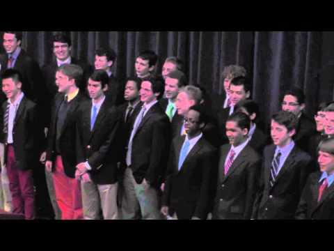 Regis High School. Hearn Dinner. Alma Mater Song by Seniors 2013.