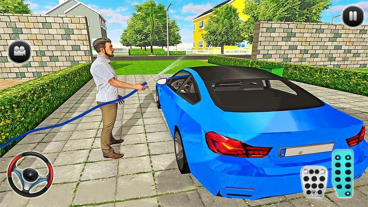 Virtual Dad Simulator Happy Family 3D - Android Gameplaying [가상아빠 시뮬레이터 행복한 가족 3D - 안드로이드 게임플레잉]