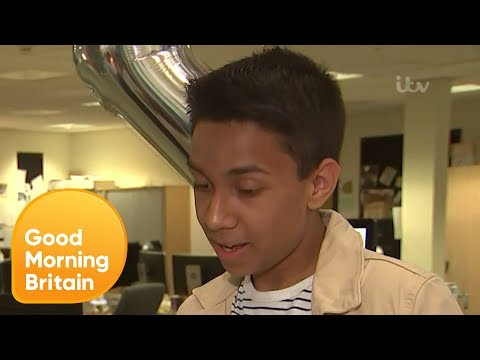 A-Level Students Open Their Results Live on Air | Good Morning Britain